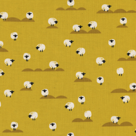 Panorama Sheep by Cotton + Steel