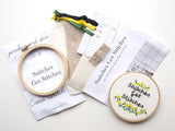 Snitches Get Stitches Cross Stitch Kit