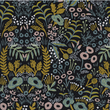 Menagerie Tapestry by Cotton + Steel in Midnight