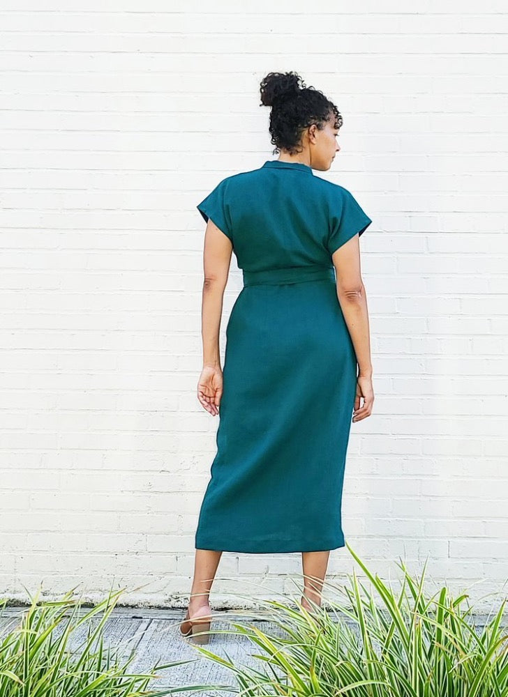 Wildwood Wrap Dress Pattern (Sizes 00 - 20)