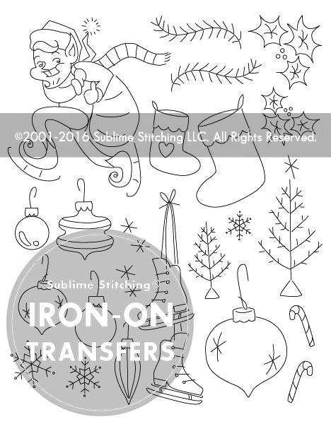 Winter Land Embroidery Patterns