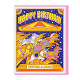 Birthday Carousel Card