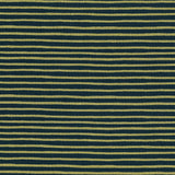 English Garden Painted Stripes by Cotton + Steel in Navy Metallic