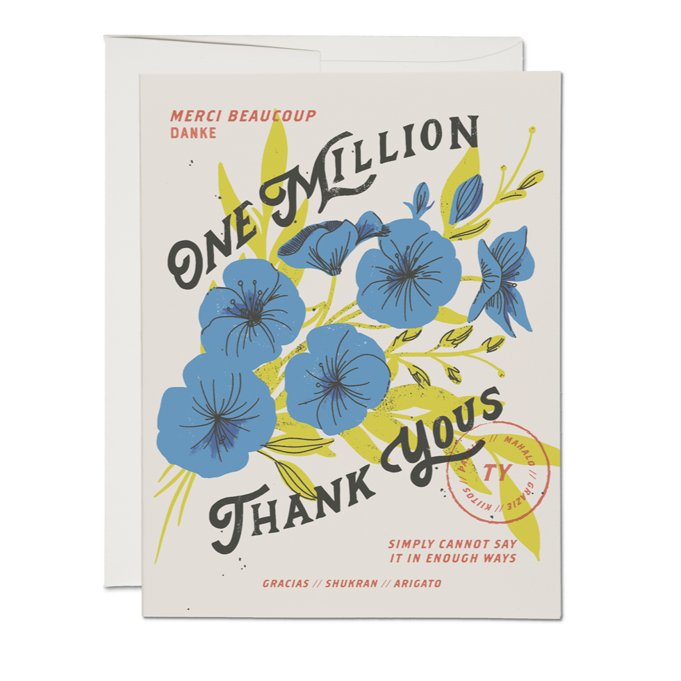 One Million Card - Boxed Set
