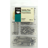 Assorted Safety Pins - 100 ct
