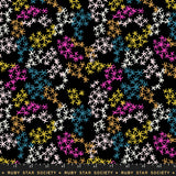Asterisks Midnight Rayon by Ruby Star Society