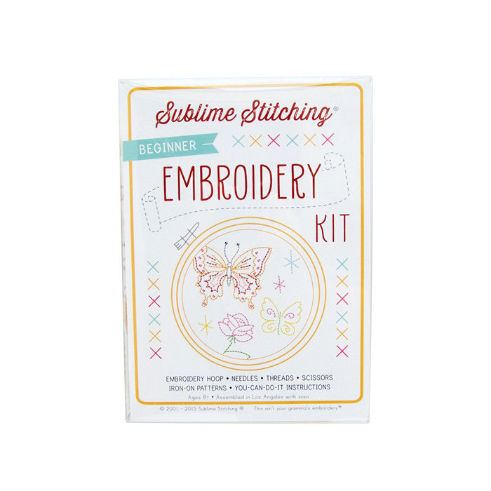 Beginner Embroidery Kit