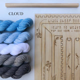 DIY Tapestry Weaving Kit - Includes Yarn!