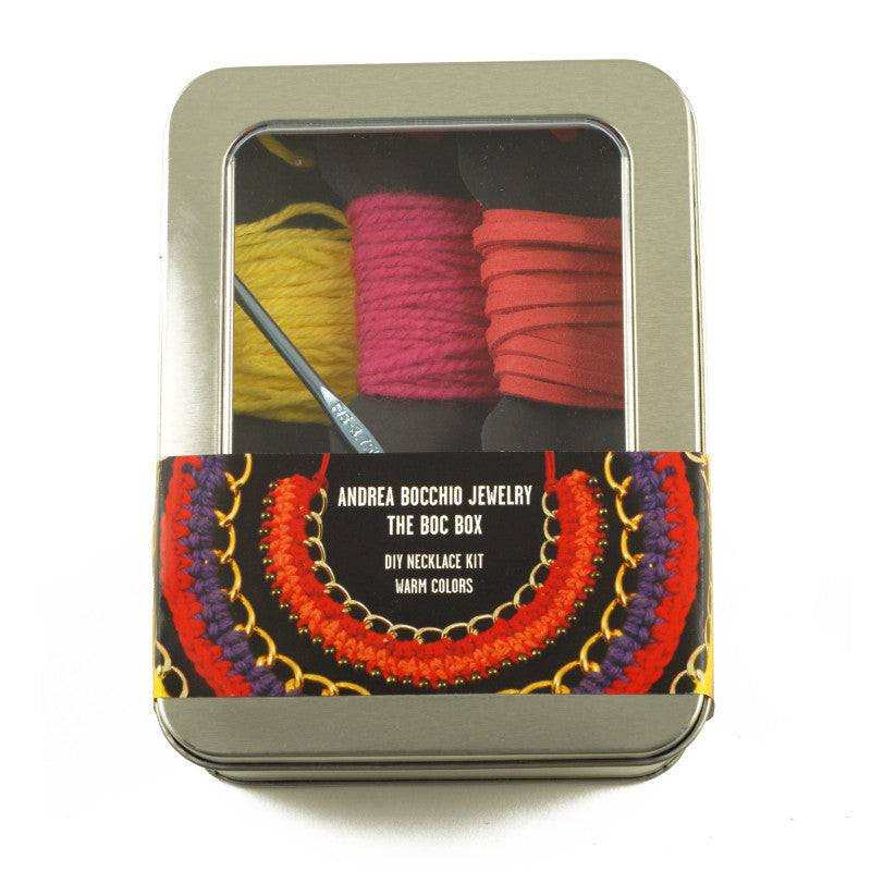 The Boc Box DIY Necklace Kit - Warm Colors