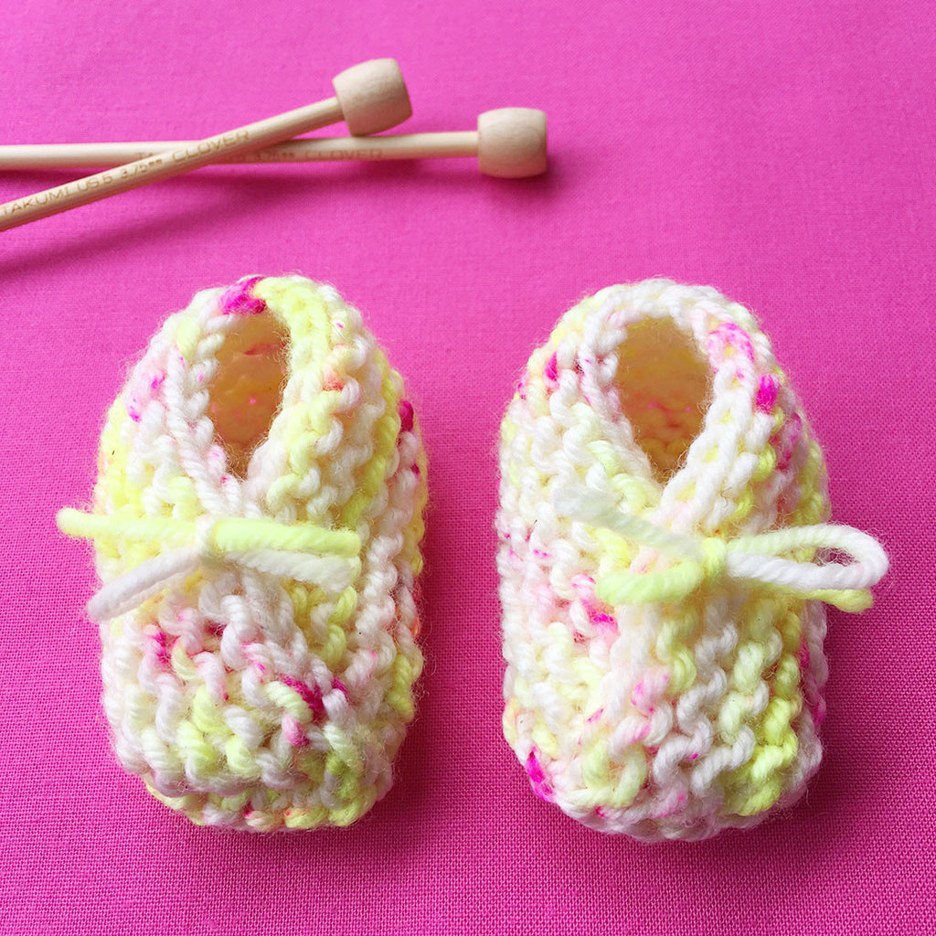 Knit Baby Booties Workshop