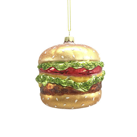 Burger Ornament