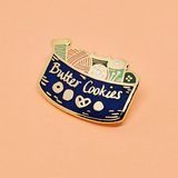 Butter Cookie Tin Pin
