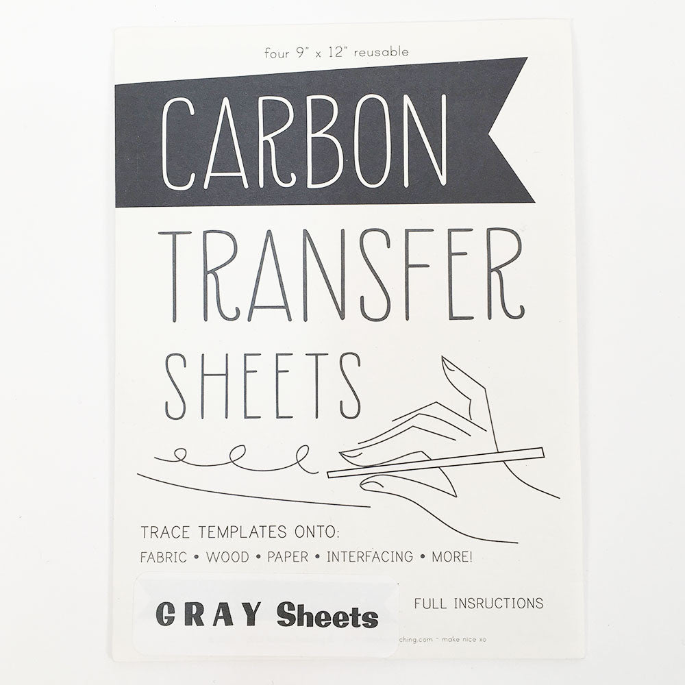 Carbon Transfer Sheets