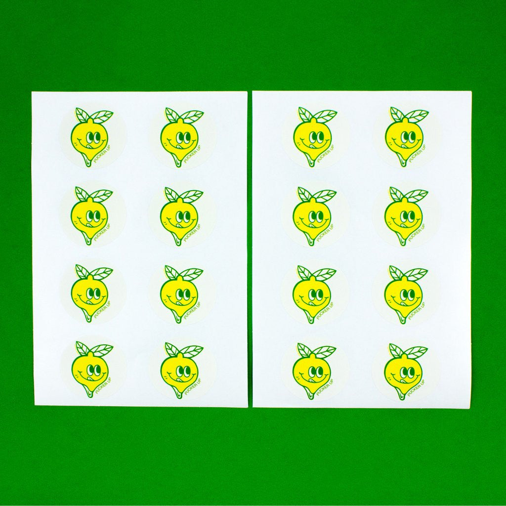 Scratch + Sniff Sticker Set: Lemon