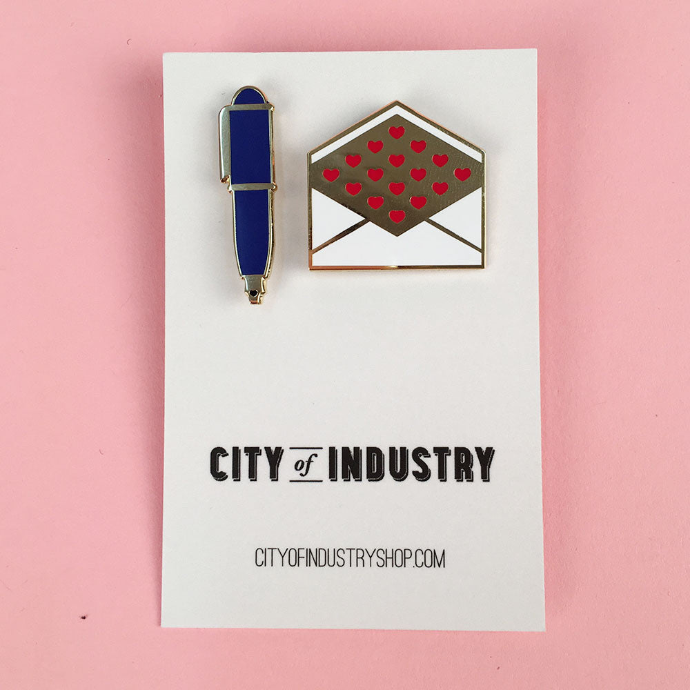 Pen Pal Pin Set