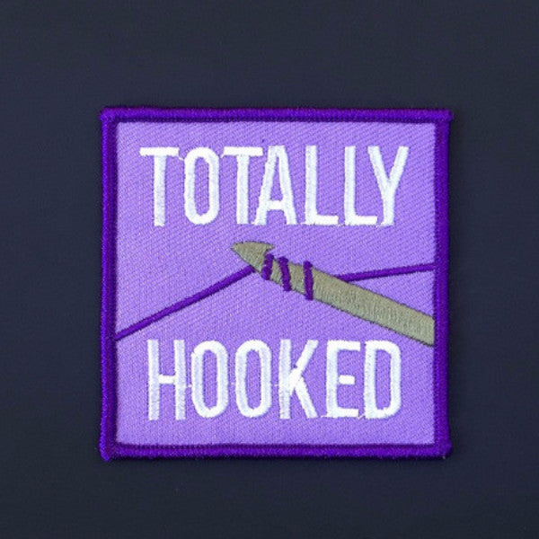 Crochet Hooked Patch