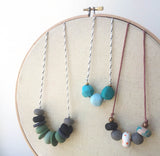 DIY Clay Bead Necklaces