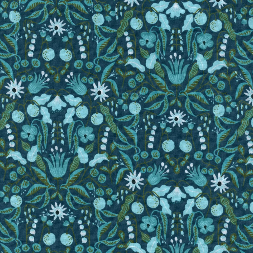 Amalfi Freja by Cotton + Steel in Turquoise
