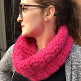 FREE! Crazy-Easy Crochet Cowl Pattern