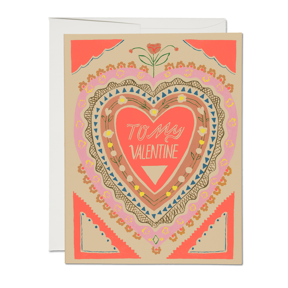 To My Valentine Card - Boxed Set