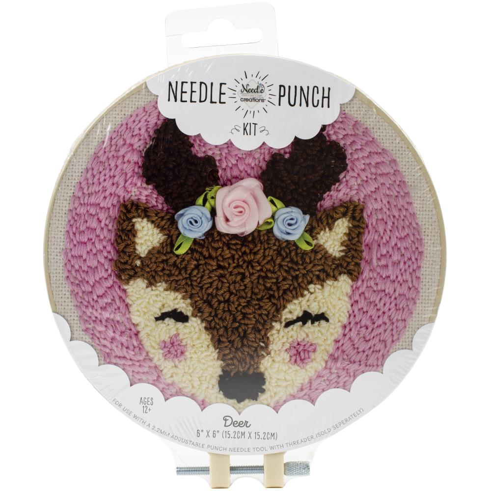 Deer Punch Needle Kit