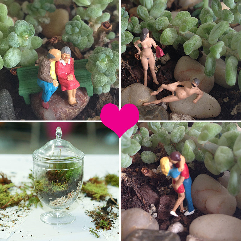 DIY Date Night: Dirty Terrariums