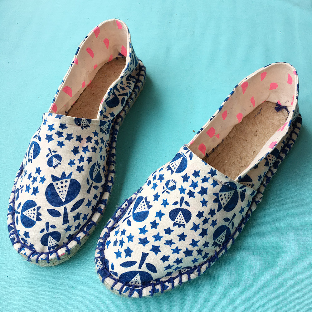 DIY Espadrille Shoes Workshop