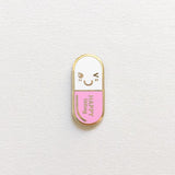Mr. Happy Pill Pin