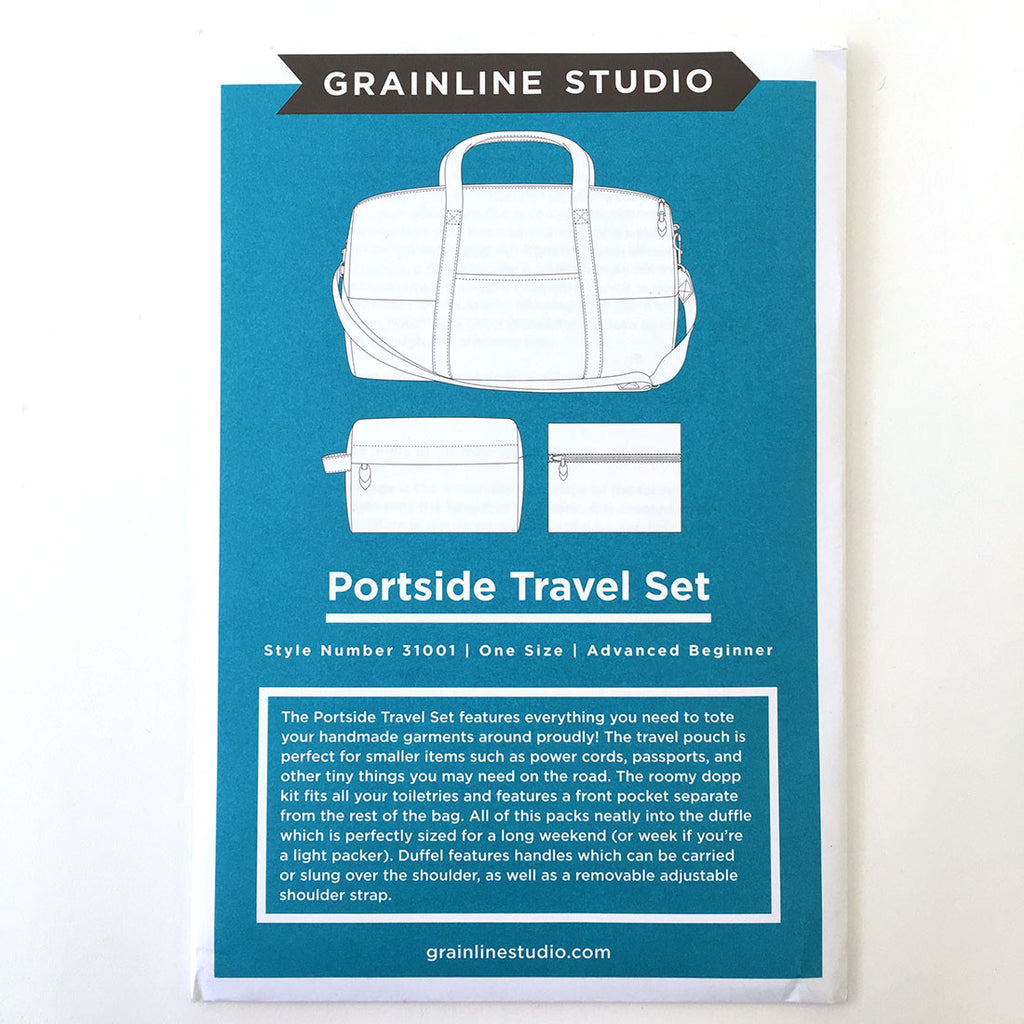 Portside Travel Set Pattern