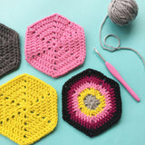 Crochet Hexagon Motifs