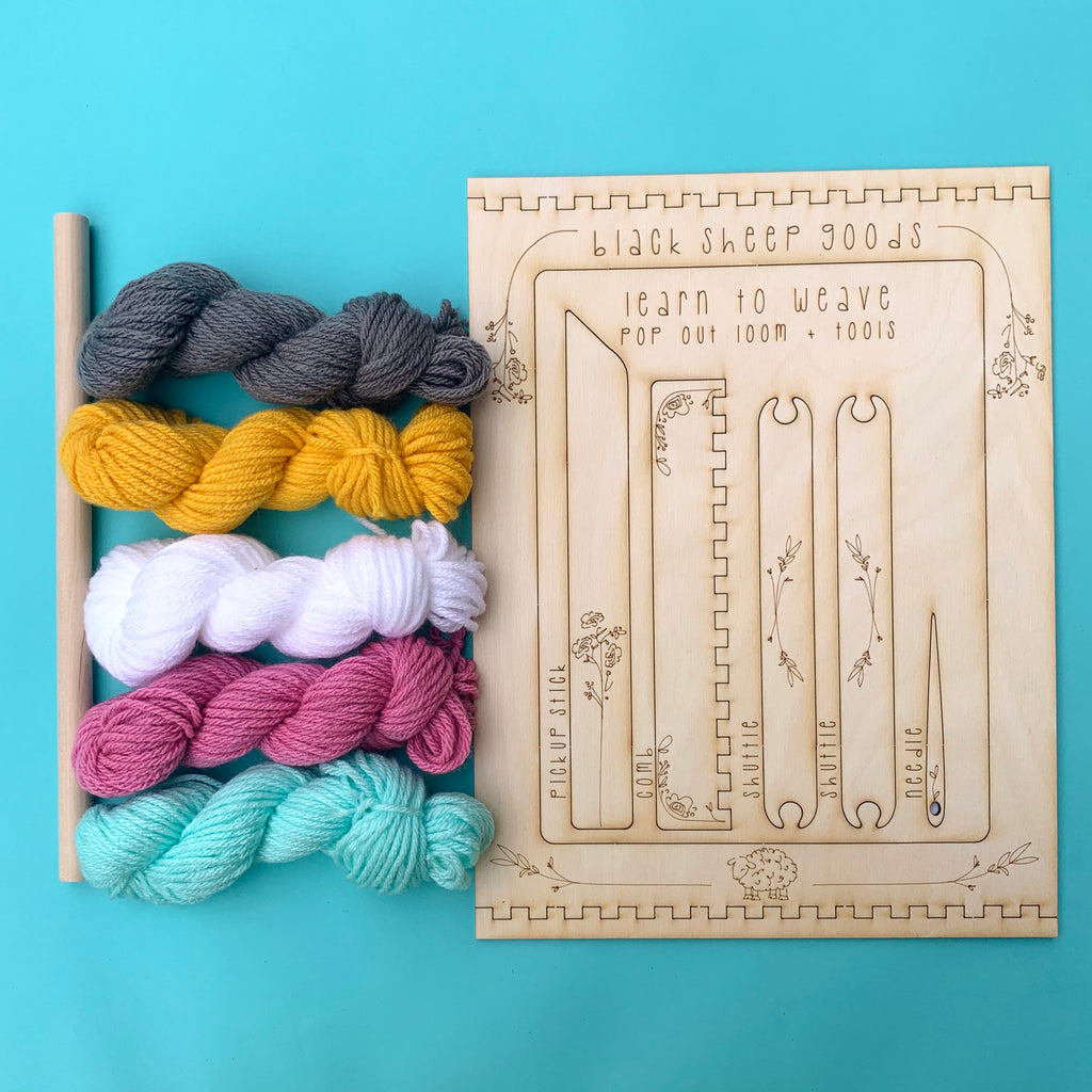 DIY Tapestry Weaving Kit - Unicorn