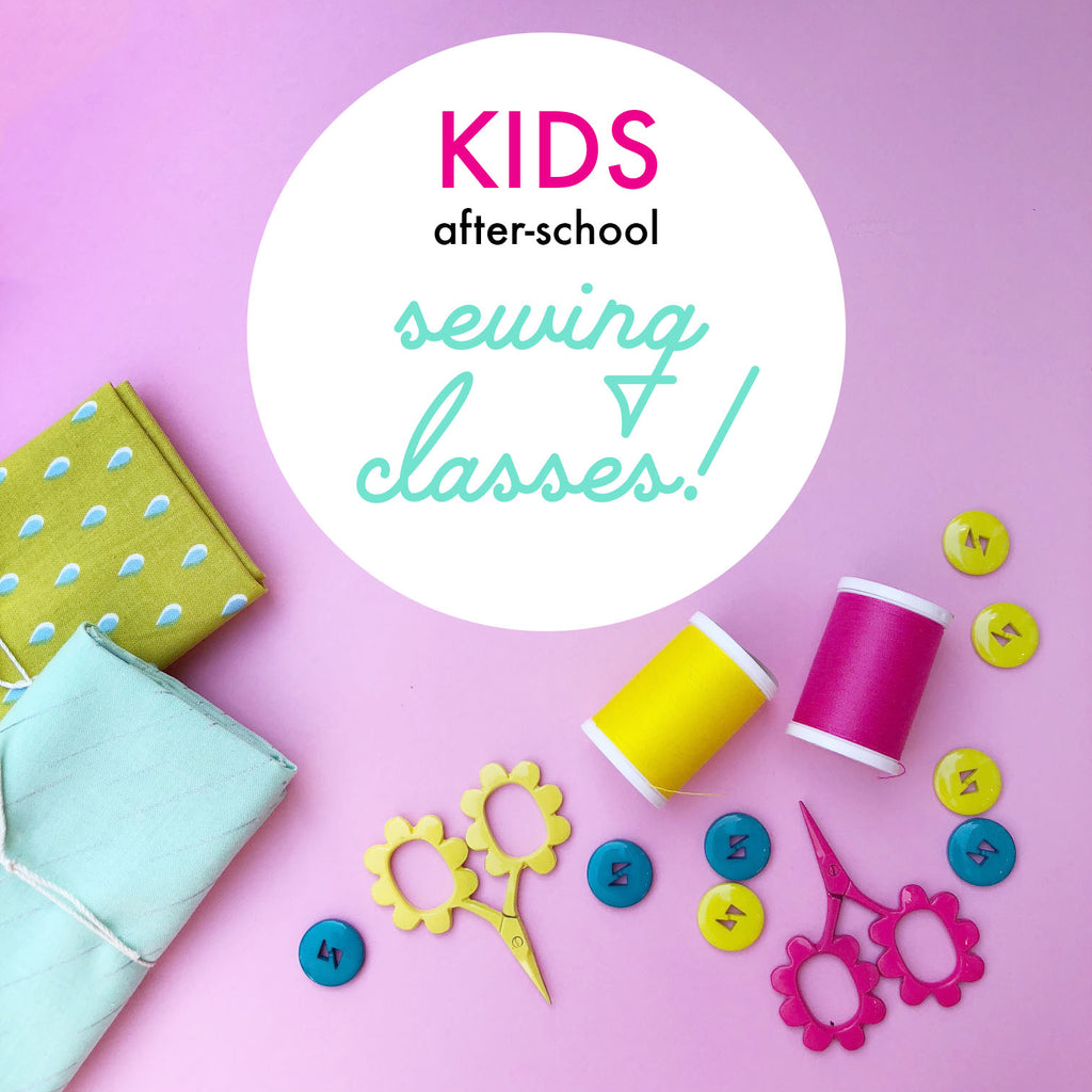 Kids After School Sewing Classes