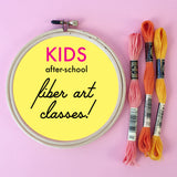 Private listing: After School Fiber Art Classes Starting 1/29/20