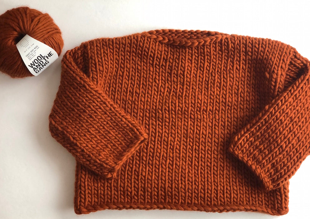 VIRTUAL WORKSHOP: Knit a Chunky Sweater