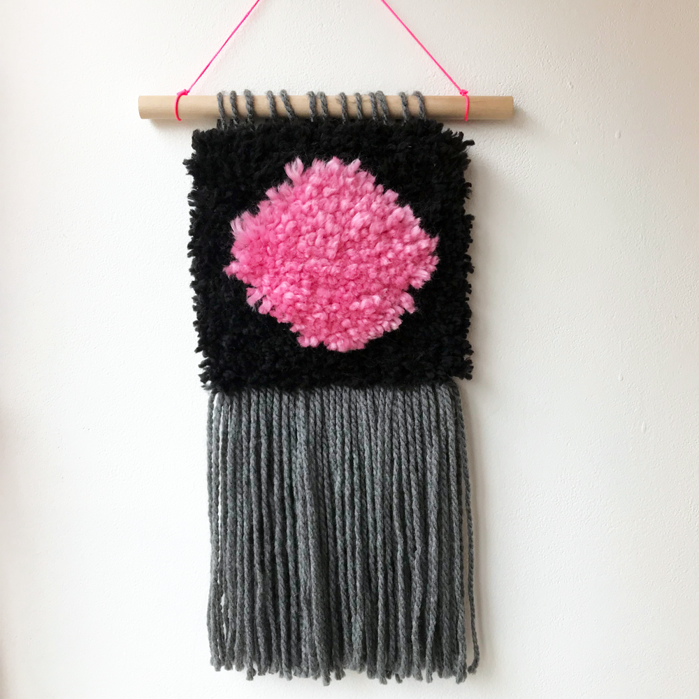 Latch Hook Wall Hanging