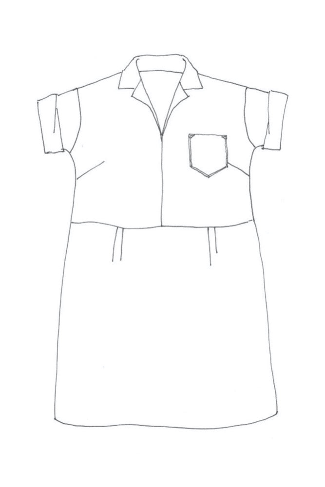 Factory Dress Pattern