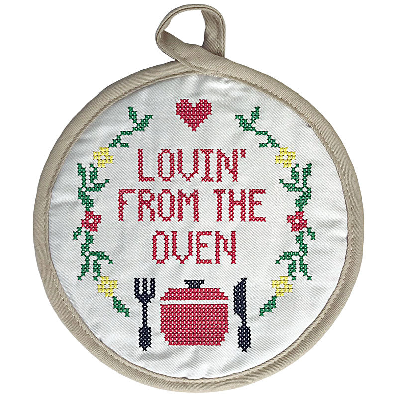 Lovin' From the Oven Pot Holder