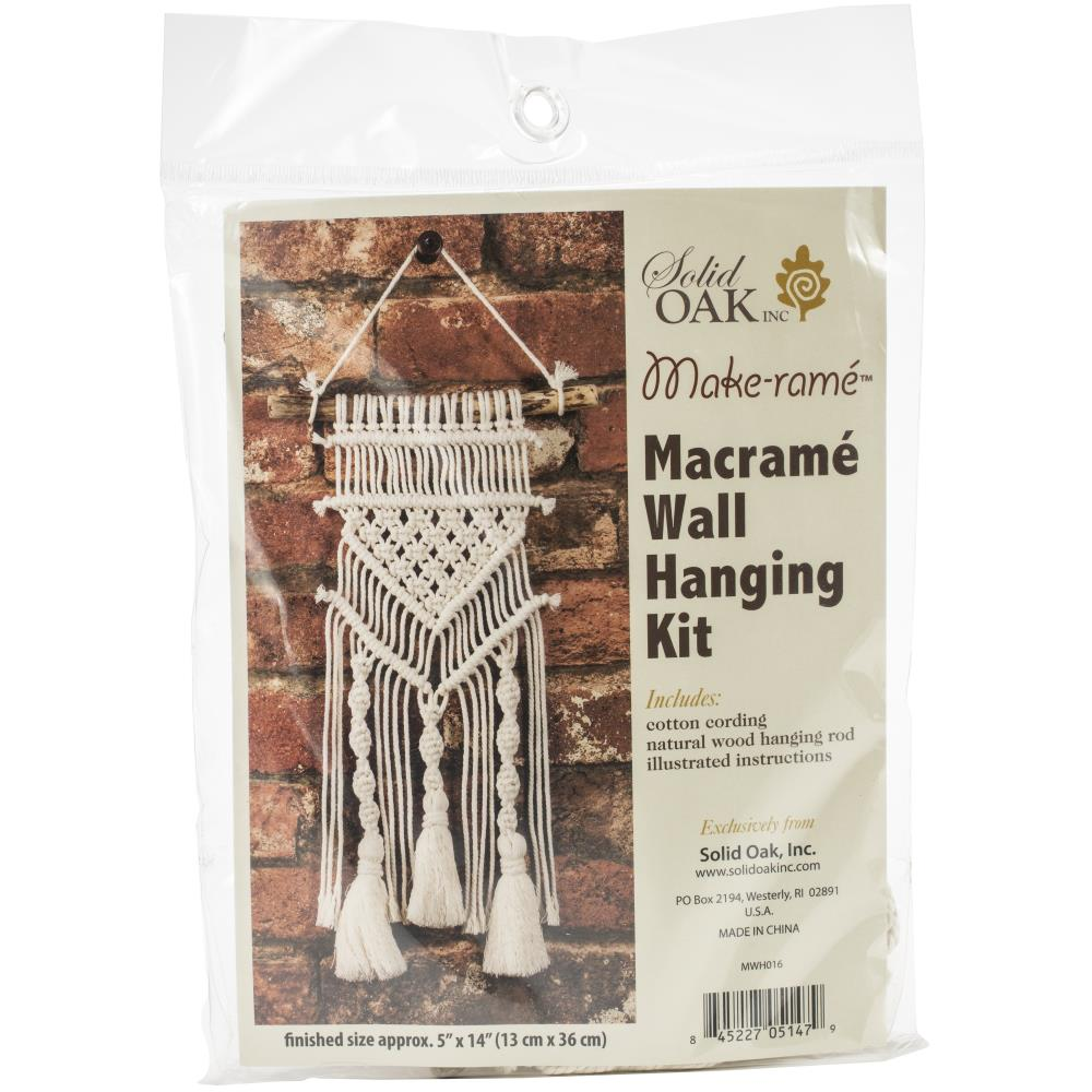 Tassels & Twists Macramé Wall Hanging Kit