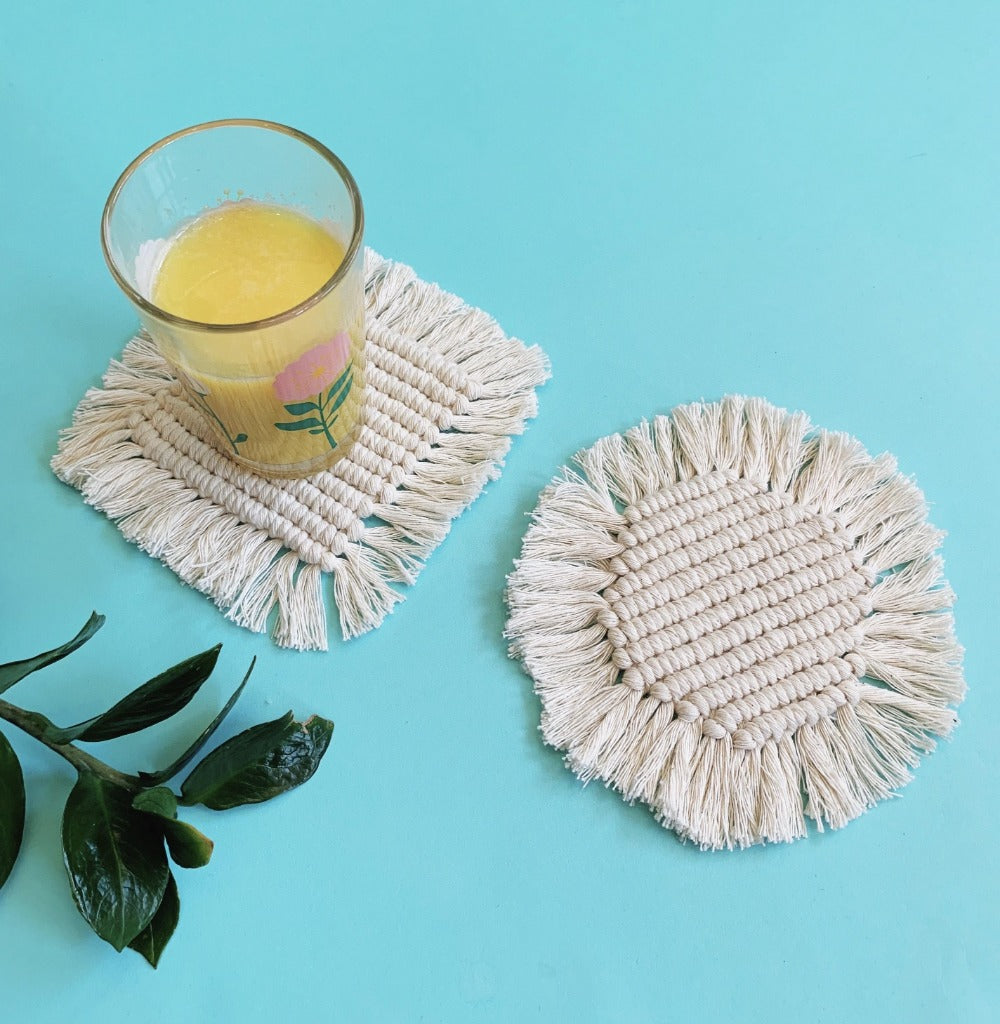 VIRTUAL WORKSHOP: Macramé Coasters
