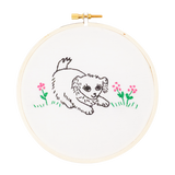 Playful Pup Embroidery Kit