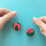 Pom Pom Earrings Workshop