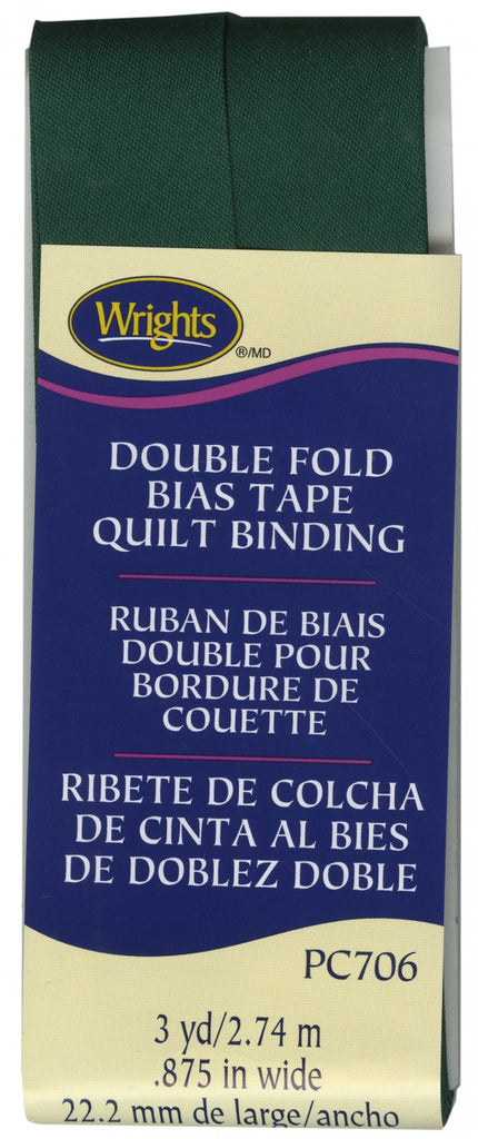 Double Fold Quilt Binding - Jungle