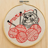 Knitten' Kitten Embroidery Kit