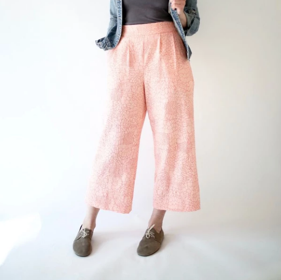 Sew Wide Leg Pants (Weekends)