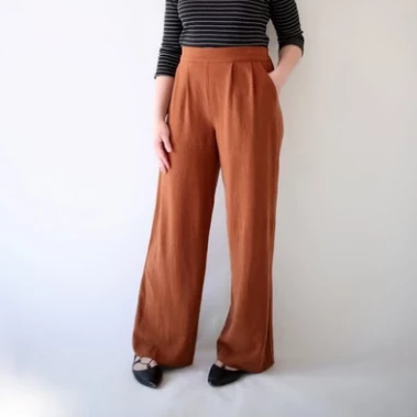 Sew Wide Leg Pants (Weeknights)
