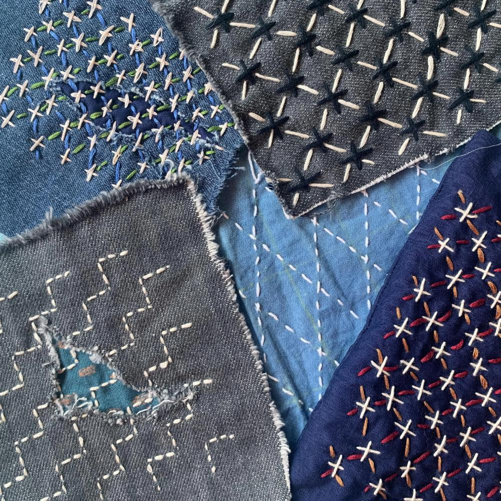 VIRTUAL WORKSHOP: Denim Mending