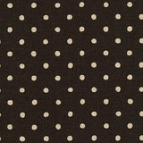 Sevenberry: Canvas Natural Dots in Black