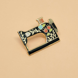 Vintage Sewing Machine Pin