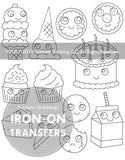 Sweet Treats Embroidery Patterns