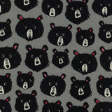 Black & White Teddy and the Bears by Cotton + Steel